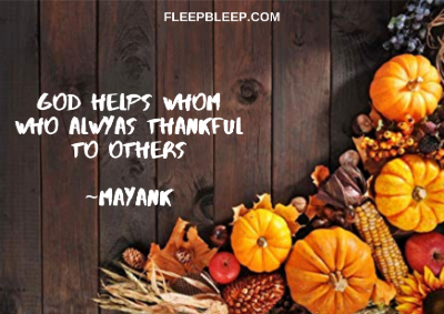 Best Thanksgiving Quotes