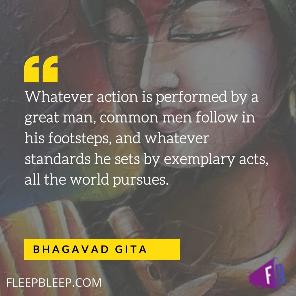 Quotes of Lord Krishna in Bhagavad Gita