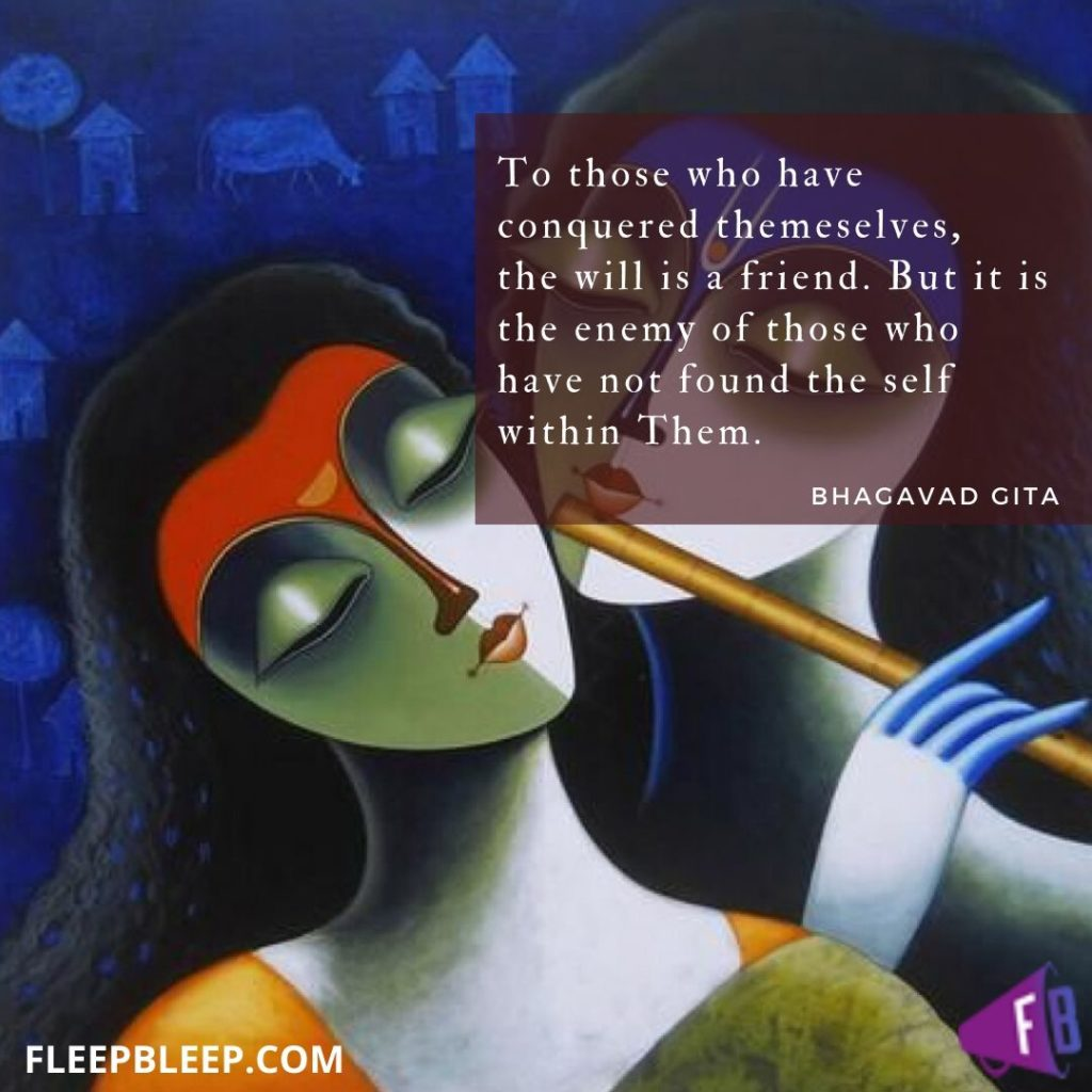 Quotes on Wisdom in Bhagavad Gita