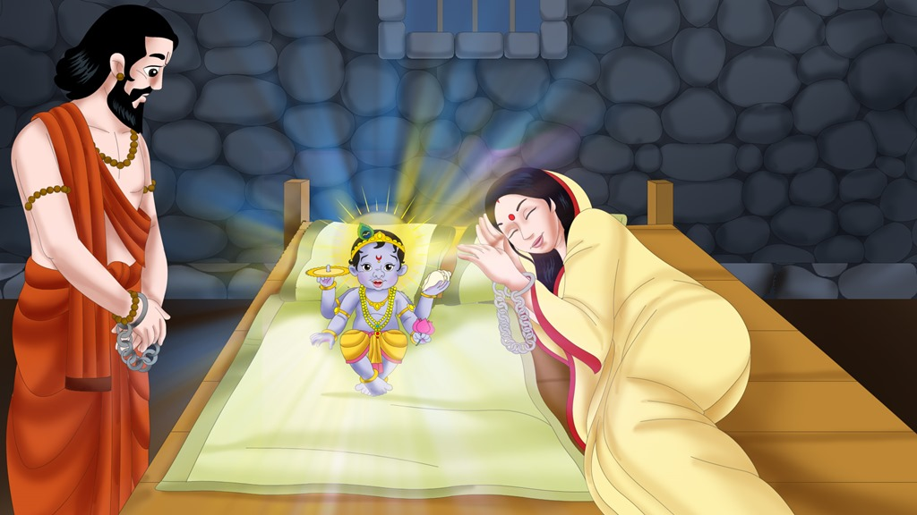 Krishna Born in Prison