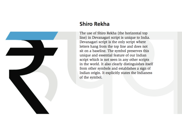 Facts about Rupee Symbol
