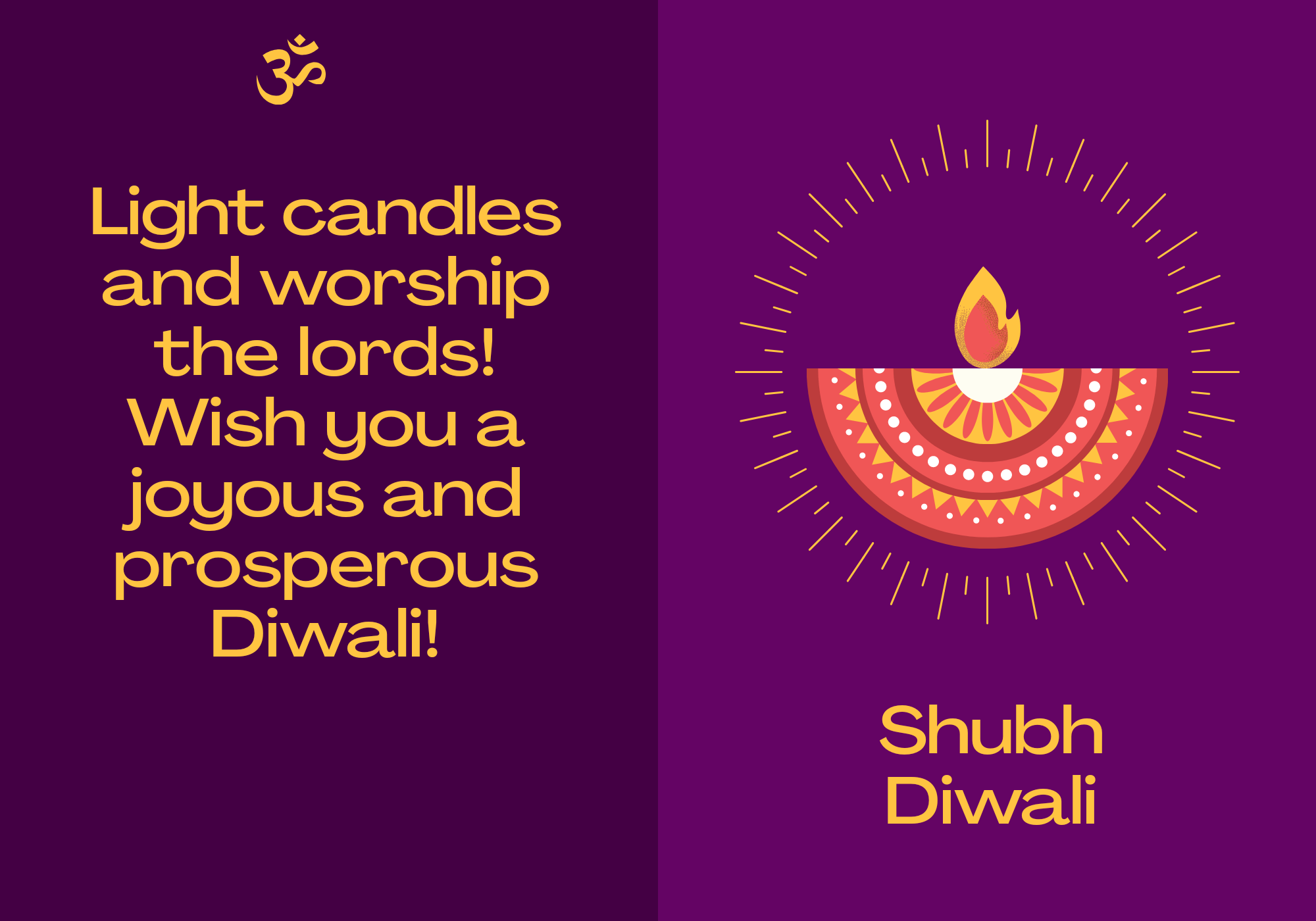 Shubh Diwali 2020 Cards and Pictures