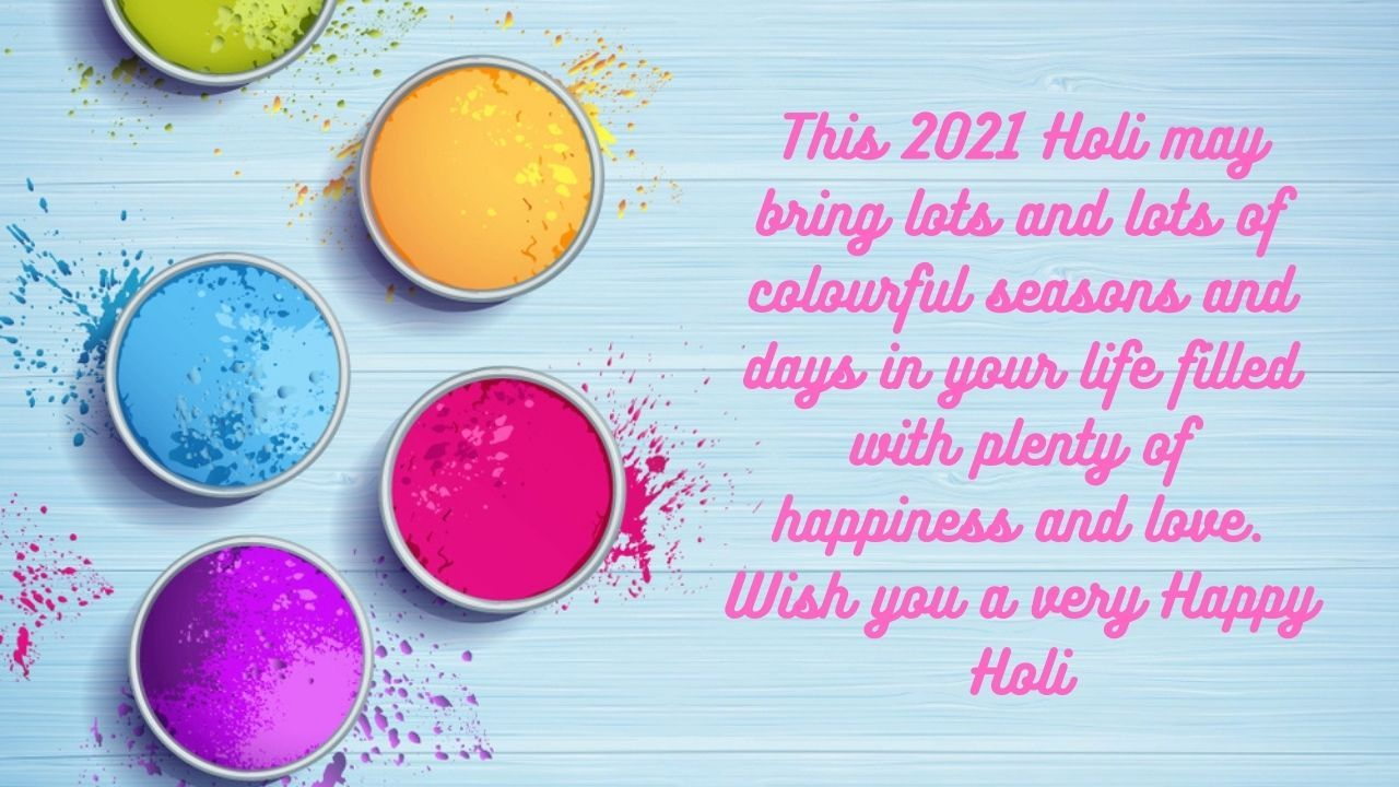 Happy Holi 2021 Images