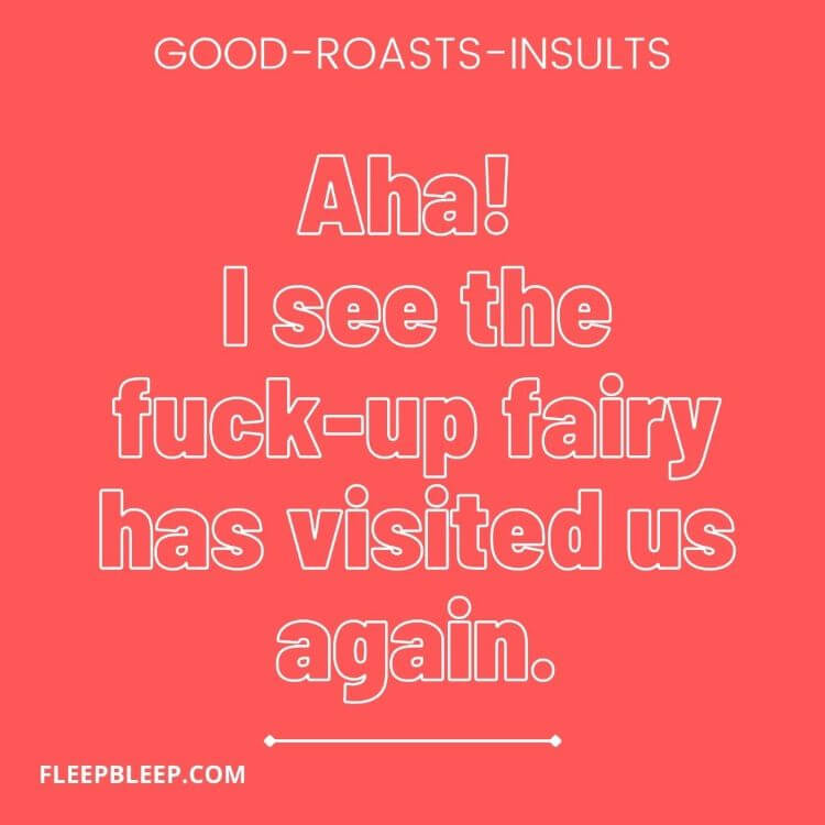 good roasts for haters